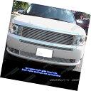 グリル Fits 09-11 2011 Ford Flex Perimeter Grille Insert ...
