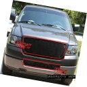 グリル Fits 2006-2008 Ford F-150 Black Billet Grille Comb...
