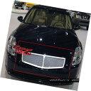 グリル Fits 04-06 Nissan Maxima Stainless Steel Mesh Gril...