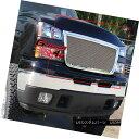 グリル Fits 05-06 Chevy Silverado 2500/3500 Stainless Mes...
