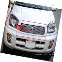 グリル Fits 2001-2003 Toyota RAV4 Main Upper Billet Grill...