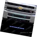 グリル Fits 2015-2018 Chevy Silverado 2500HD/3500HD Black...