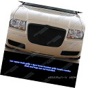 グリル Fits 2005-2010 Chrysler 300 Black Mesh Grille Comb...