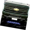 グリル 2011-2014 Chevy Silverado 2500HD/3500HD Black Rive...