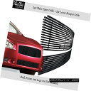 グリル 304 Stainless Steel Black Billet Grille Combo Fits...