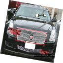 グリル Fits 2008-2011 Cadillac CTS Main Upper Billet Gril...
