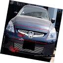 グリル Fits 2003-2005 Honda Accord Sedan Main Upper Bille...