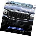グリル Fits 1999-2001 Cadillac Escalade Black Billet Gril...