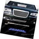 グリル For 2011-2014 Chrysler 300/300C Stainless Steel Me...