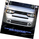グリル Fits 2009-2014 Nissan Cube Black Billet Grille Gri...
