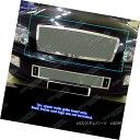 グリル Fits 04-10 Infiniti QX56 Stainless Steel Mesh Gril...