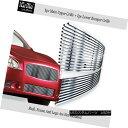グリル 304 Stainless Steel Billet Grille Combo Fits 2009-...