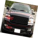 グリル Fits 04-08 Ford F-150 Honeycomb Style Black Billet...