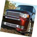 グリル Fits 2009-2012 Ford Flex Stainless Steel Mesh Gril...