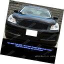 グリル Fits 07-08 Infiniti G35 Sedan Black Billet Grille ...