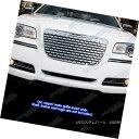 グリル For 2011-2014 Chrysler 300/300C Stainless Steel Sy...
