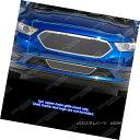 グリル Fits 2013-2018 Ford Taurus W/SHO Logo Cover Stainl...