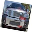 グリル Fits 2004-2007 Nissan Armada/Titan Mesh Grille Com...