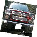 グリル Fits 04-12 2012 Chevy Colorado Stainless Steel Mes...