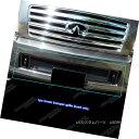 グリル Fits 04-10 Infiniti QX56 Lower Bumper Black Mesh G...