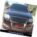 グリル Fits 06-07 VW Volkswagen Passat Lower Bumper Stain...