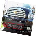 グリル Fits 06-10 Chevy HHR Lower Bumper Billet Grille In...