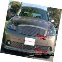 グリル Fits 2005-2007 Infiniti M35 Sedan Billet Grille In...