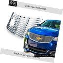 グリル For 2014-2018 Chevy Impala Logo Show Stainless Ste...