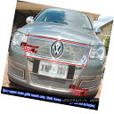 グリル Fits 06-07 VW Volkswagen Passat Stainless Mesh Gri...