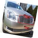 グリル Fits 2004-2006 Nissan Maxima Main Upper Billet Gri...