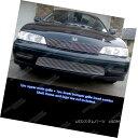 グリル Fits 94-95 Honda Accord Billet Grille Combo Insert...