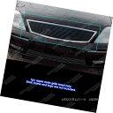 グリル Fits 2005-2007 Ford Five Hundred Black Billet Gril...