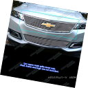 グリル Fits 2014-2018 Chevy Impala Logo Show Upper Billet...
