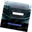 グリル Fits 2007-2012 Audi Q7 Black Main Upper Billet Gri...