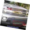 グリル Fits 02-05 Chevy Trailblazer LT/LS/SS Lower Bumper...