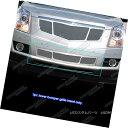 グリル Fits 2010-2012 Cadillac SRX Stainless Steel Mesh B...