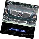 グリル Fits 2013-2014 Cadillac ATS Logo Show Stainless Up...