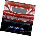 グリル Fits 2006-2010 Chrysler PT Cruiser Stainless Steel...