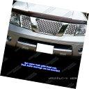 グリル Fits 2005-2007 Nissan Frontier/ Pathfinder with Lo...