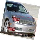 グリル Fits 03-07 Infiniti G35 Coupe Vertical Billet Gril...
