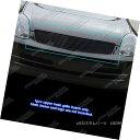 グリル Fits 2003-2004 Infiniti G35 Sedan Black Billet Gri...