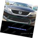 グリル Fits 2013-2015 Honda Accord Sedan Black Lower Bump...
