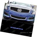 グリル For 2013-2014 Cadillac ATS Logo Show Stainless Bla...