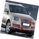 グリル Fits 07-11 2011 Audi Q7 Billet Grille Combo フィッ...