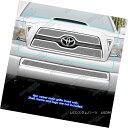 グリル Fits 2011 Toyota Tacoma Stainless Steel Mesh Grill...