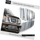 グリル Fits 2008-2014 Nissan Armada Billet Grille w/Logo ...