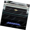 グリル Fits 2007-2013 Chevy Silverado 1500 Black Billet G...