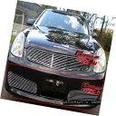グリル Fits 03-04 Infiniti G35 Sedan Nismo Main Upper Bil...