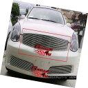 グリル Fits 2005-2006 Infiniti G35 Main Upper Billet Gril...