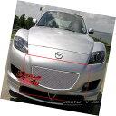 グリル Fits 2004-2008 Mazda RX-8 Stainless Mesh Grille In...
